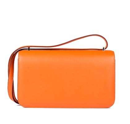Hermes Bag Constance Elan Orange Swift C13 Back