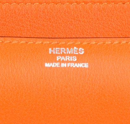 Hermes Bag Constance Elan Orange Swift C13 Gilt