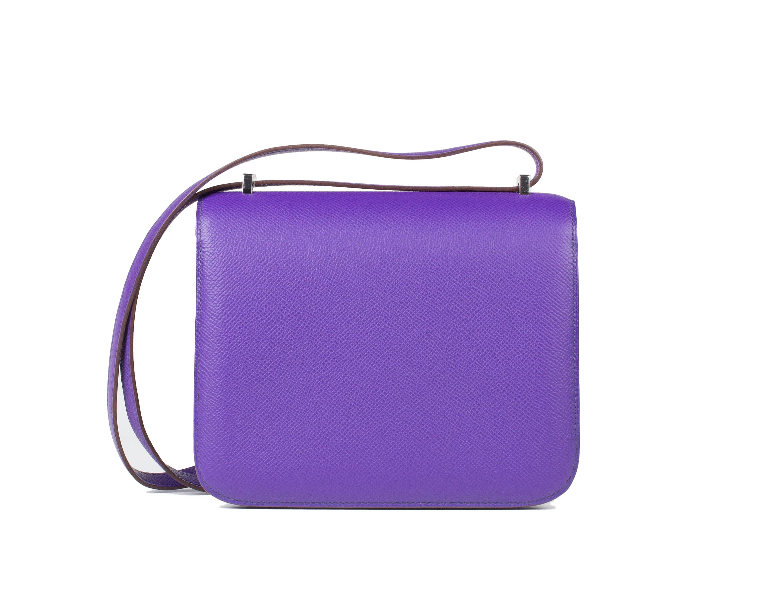 Hermes Bag Constance Mini Crocus Epsom 18cm C12 Back