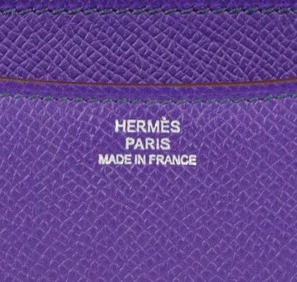 Hermes Bag Constance Mini Crocus Epsom 18cm C12 Gilt