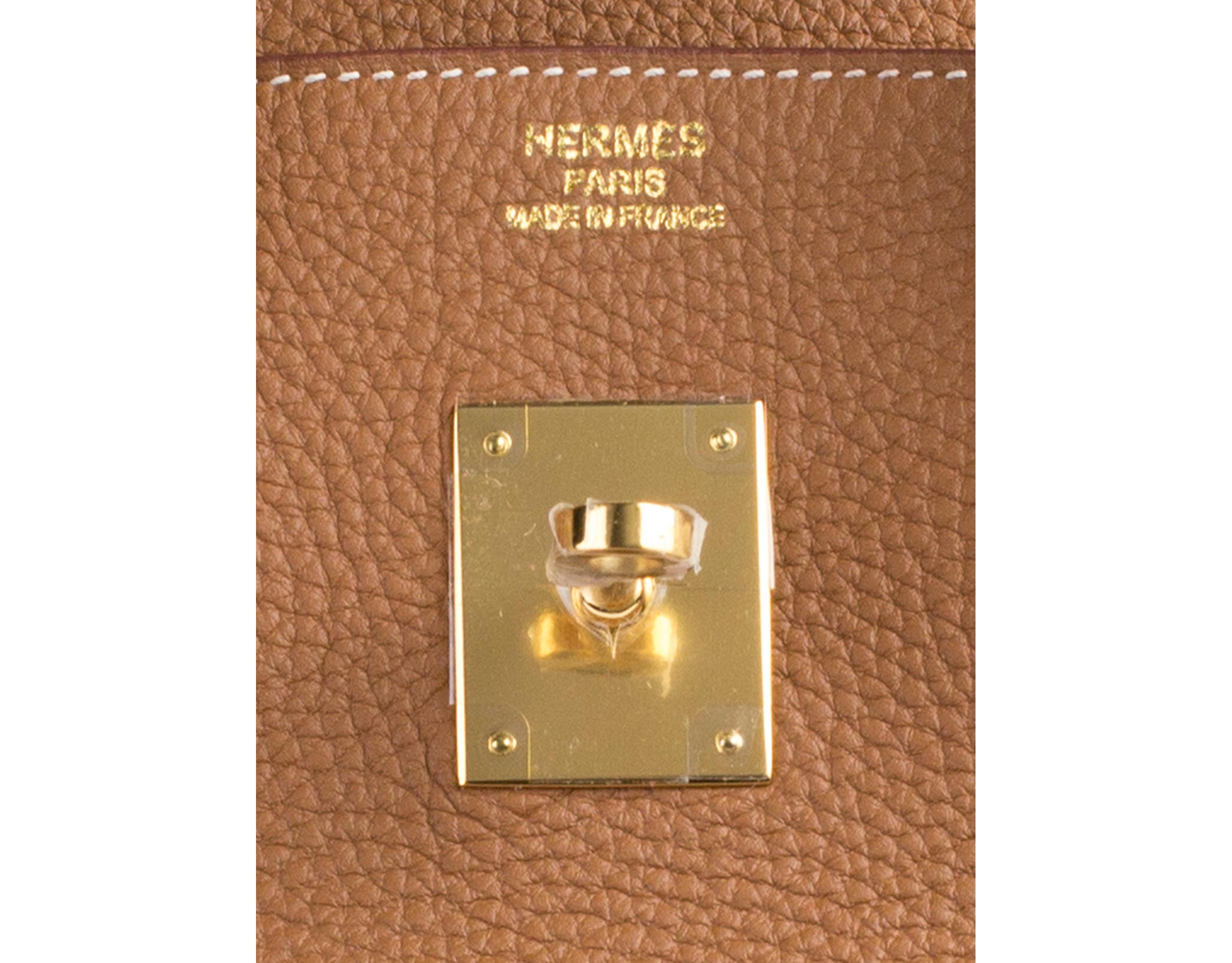 Hermes Birkin Bag Gold Togo 35cm Gilt