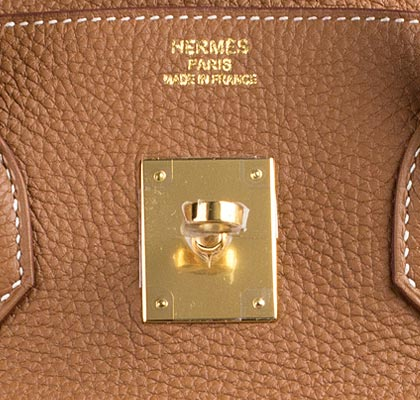Hermes Bag Birkin Gold Togo 35cm B92 Gilt