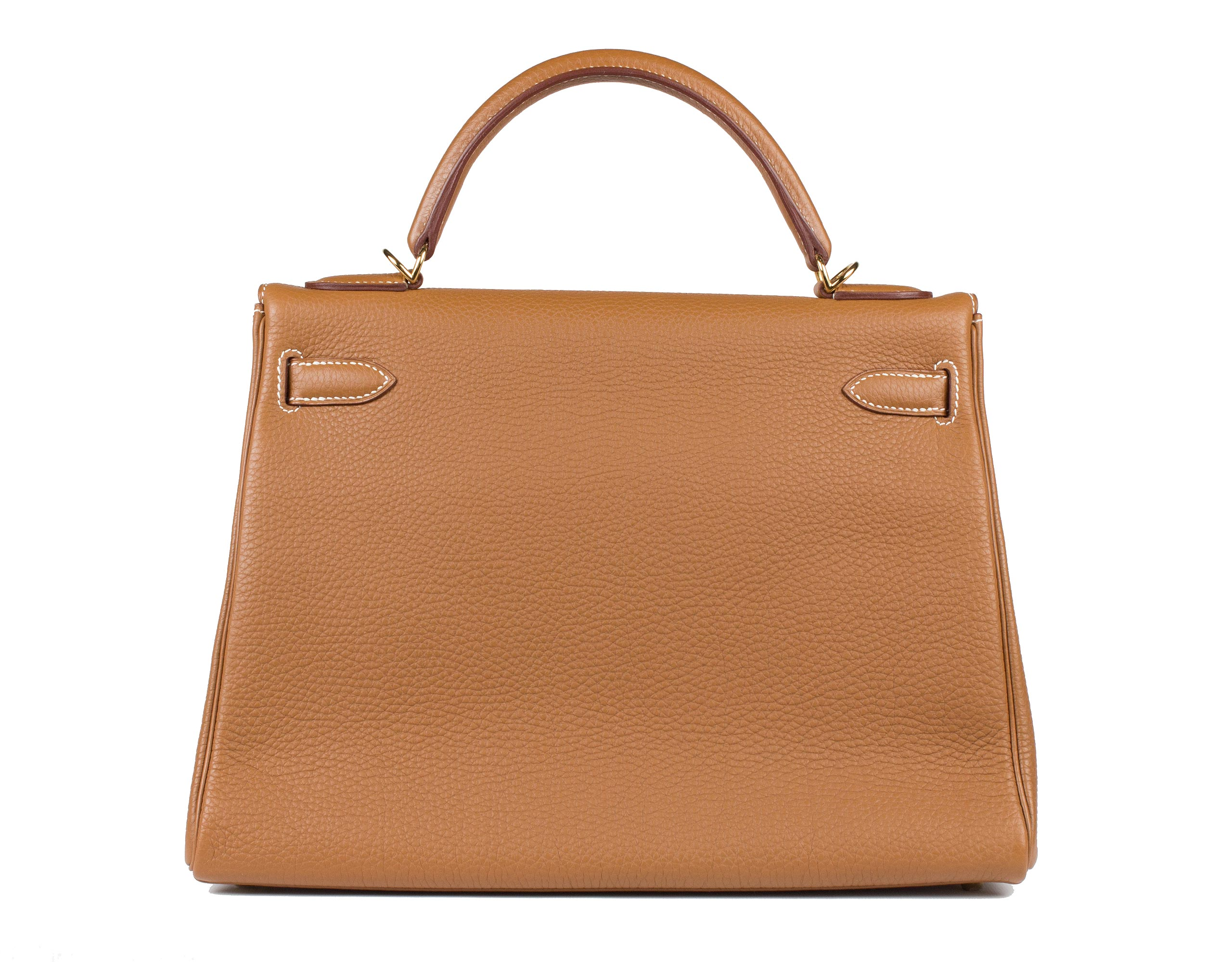 Hermes Bag Kelly Gold Togo 32cm K74 Back