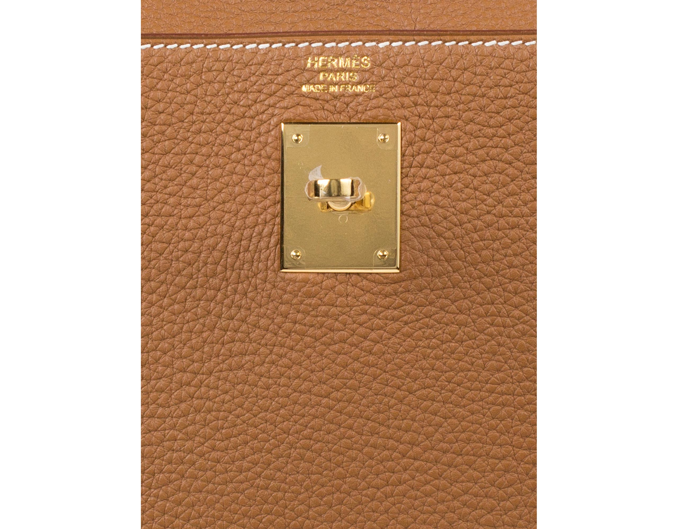 Hermes Bag Kelly Gold Togo 32cm K74 Gilt