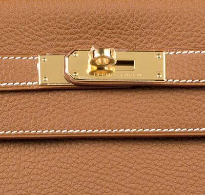 Hermes Bag Kelly Gold Togo 32cm K74 Lock