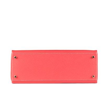 Hermes Bag Kelly Rose Jaipure Epsom 35cm K76 Base