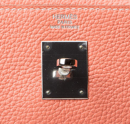 Hermes Bag Kelly Crevette Togo 32cm K77 Gilt