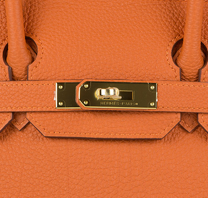 Hermes Bag Birkin Orange Togo 30cm B125 Lock