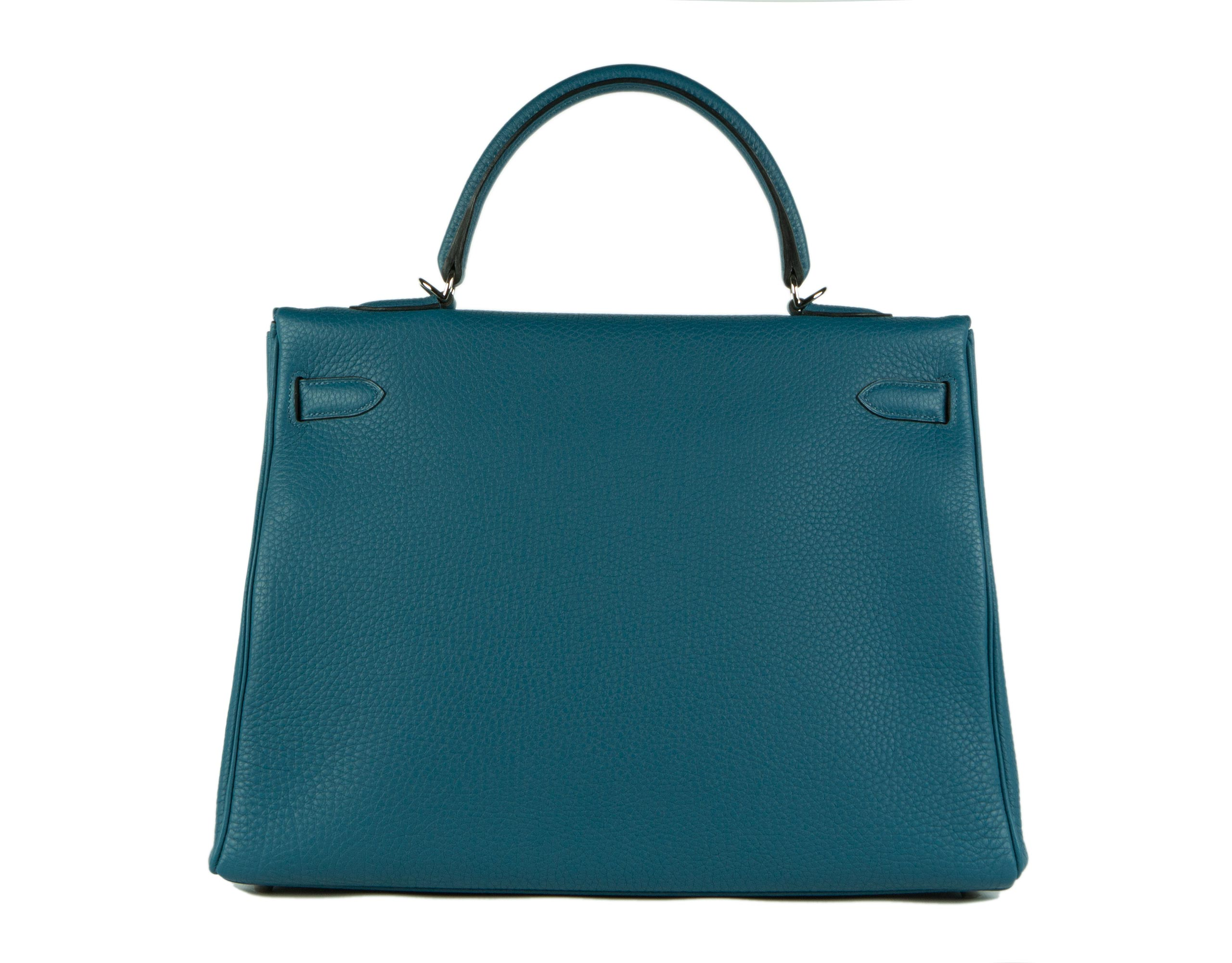 Hermes Bag Kelly Blue Cobalt Togo 35cm K80 Back