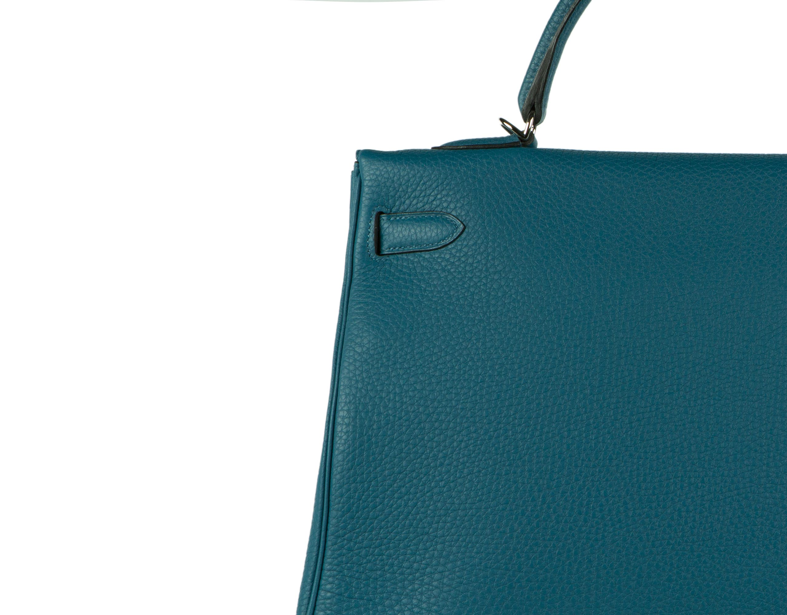 Hermes Bag Kelly Blue Cobalt Togo 35cm K80 Stitching