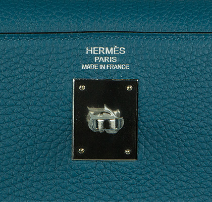 Hermes Bag Kelly Blue Cobalt Togo 35cm K80 Gilt