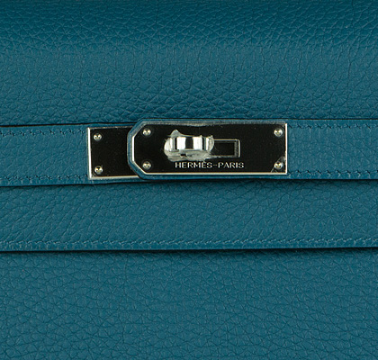 Hermes Bag Kelly Blue Cobalt Togo 35cm K80 Lock