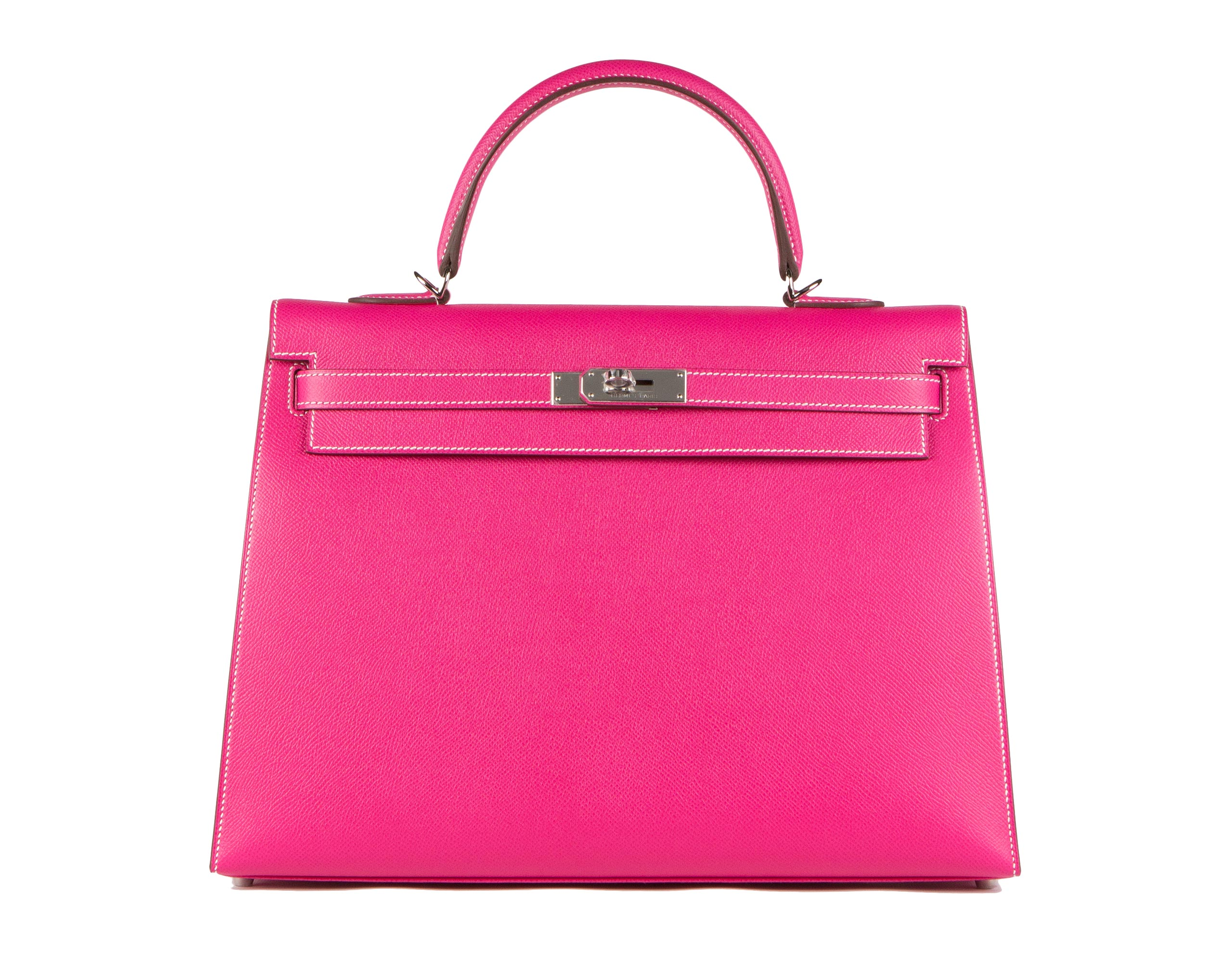 Hermes Bag Kelly Rose Tyrien Epsom 35cm K81 Front