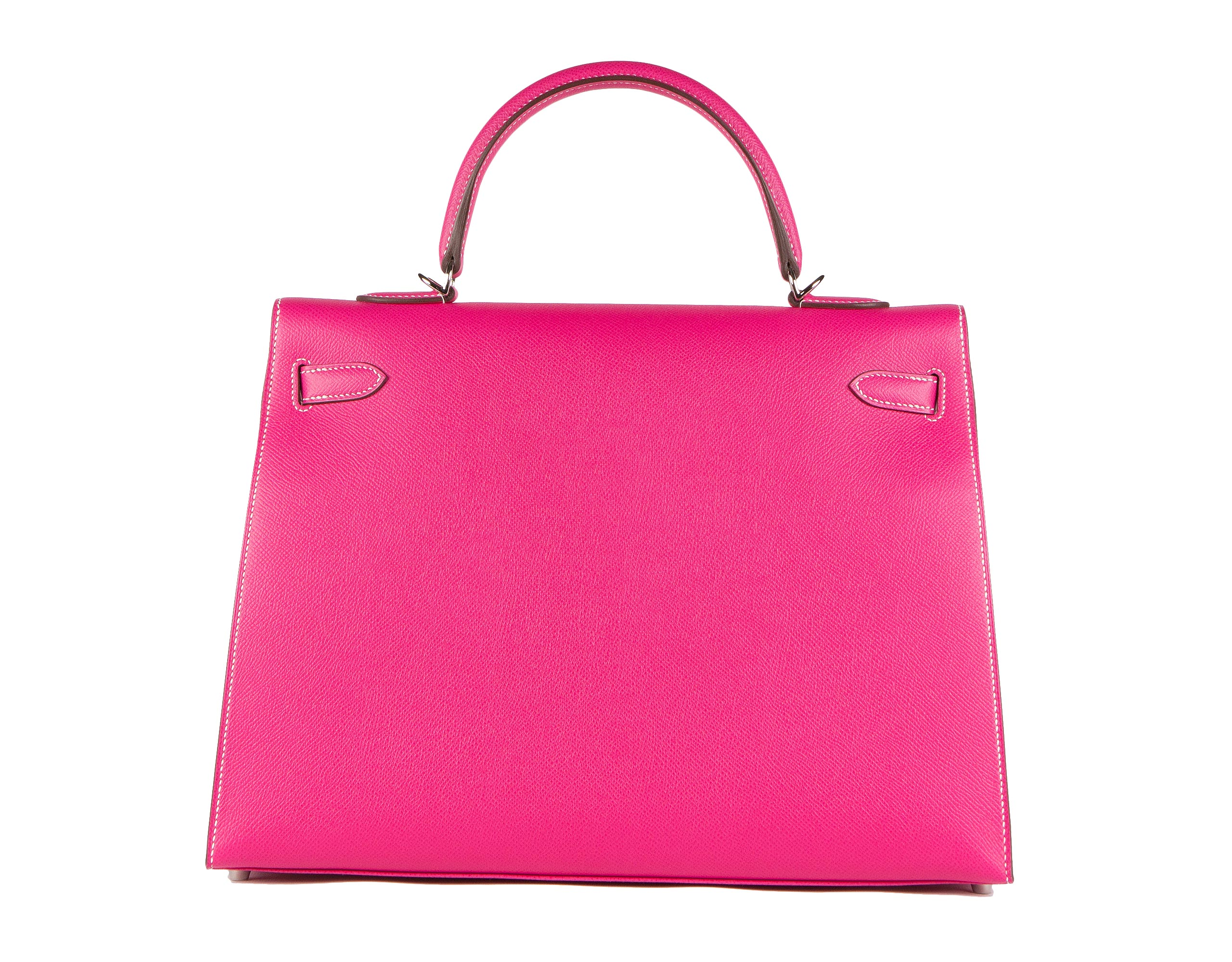 Hermes Bag Kelly Rose Tyrien Epsom 35cm K81 Back