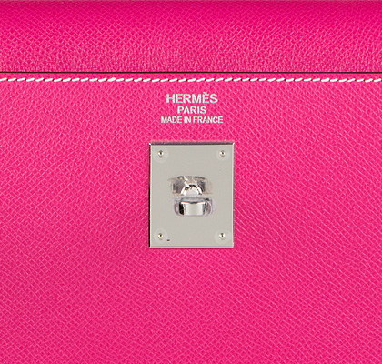 Hermes Bag Kelly Rose Tyrien Epsom 35cm K81 Gilt