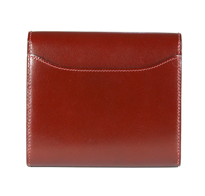 Constance Wallet Rouge Box 13cm with Palladium