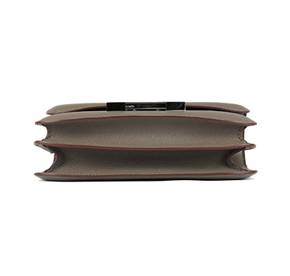 Constance Mini 18cm Etain Epsom with Palladium
