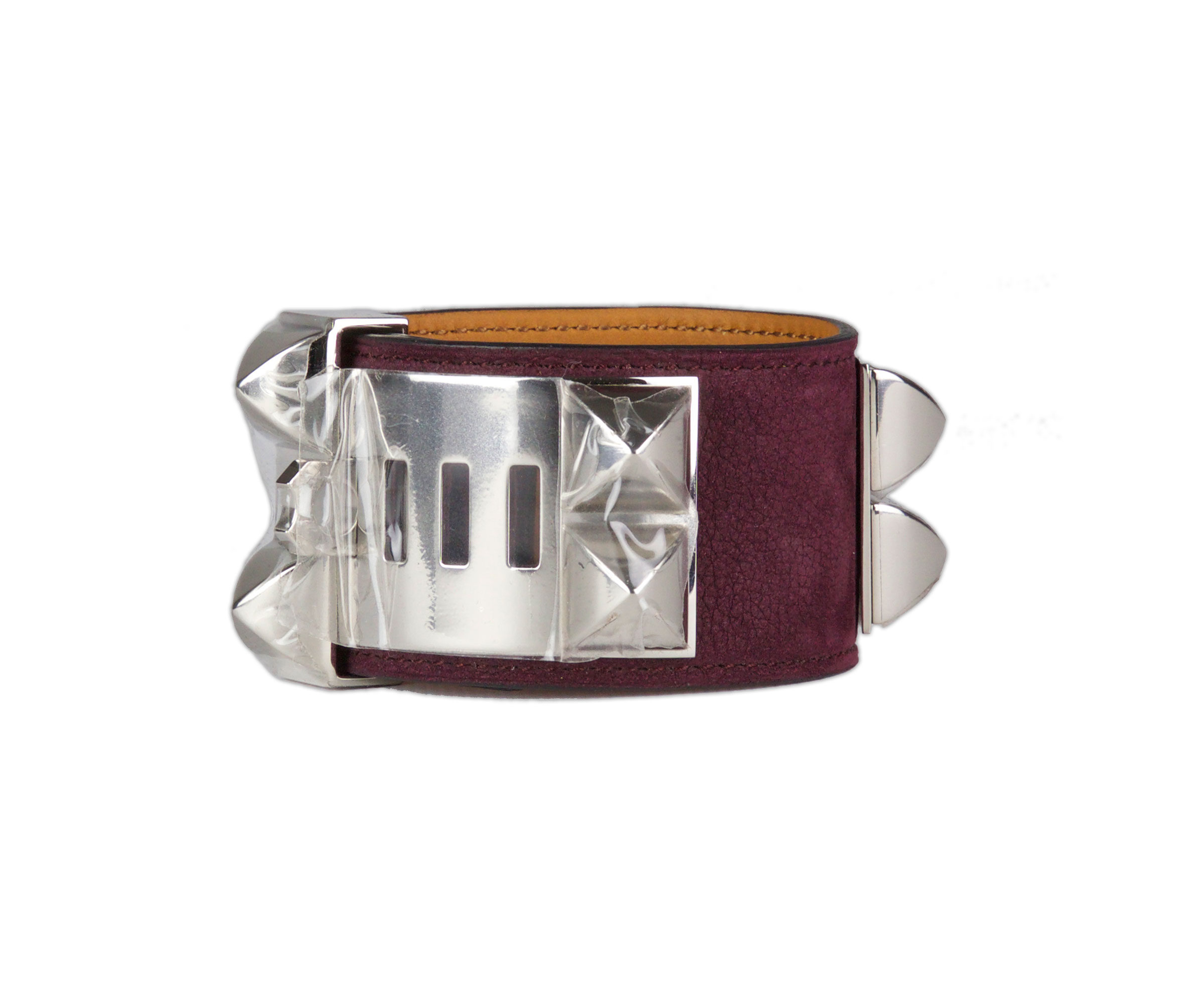 chien de bracelet leather pin inspired collier hermes pink