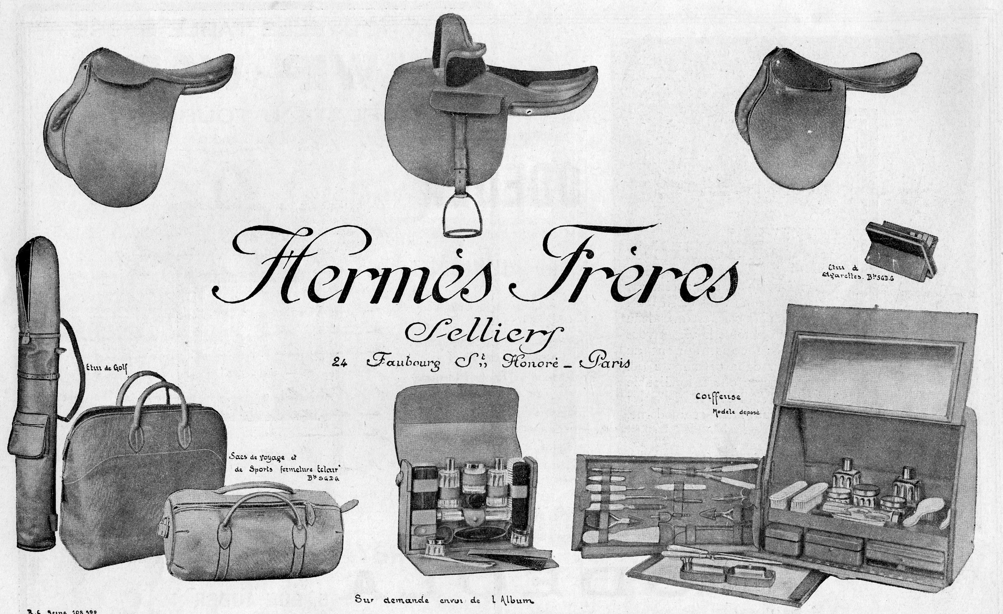 The History of Hermes - Bags of Luxury Blog 70c64aa705e24
