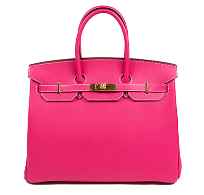 Hermes Birkin Tyrien 35cm, Epsom with Gold Hardware
