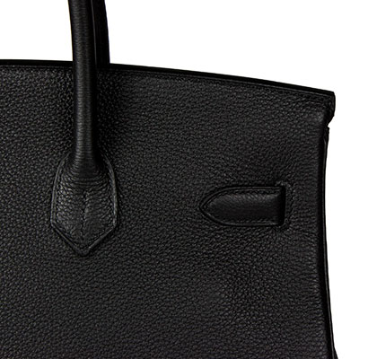 Hermes Birkin Black 35cm, Togo with Gold Hardware