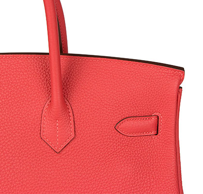 Hermes Birkin Rouge Pivoine 35cm, Togo with Palladium Hardware