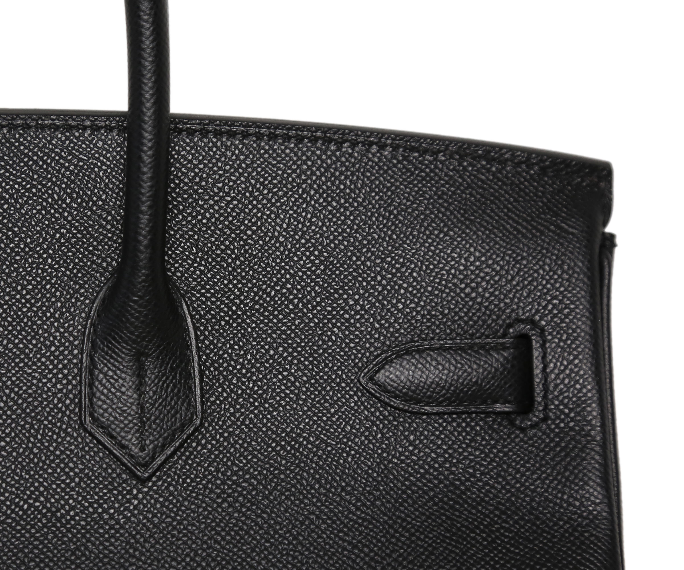 Hermes Birkin Black 35cm, Epsom with Palladium
