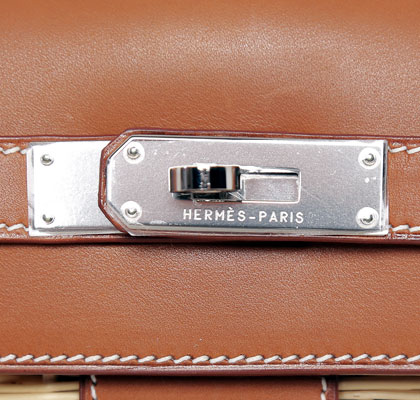 Hermes Kelly Barenia 35cm, with Palladium