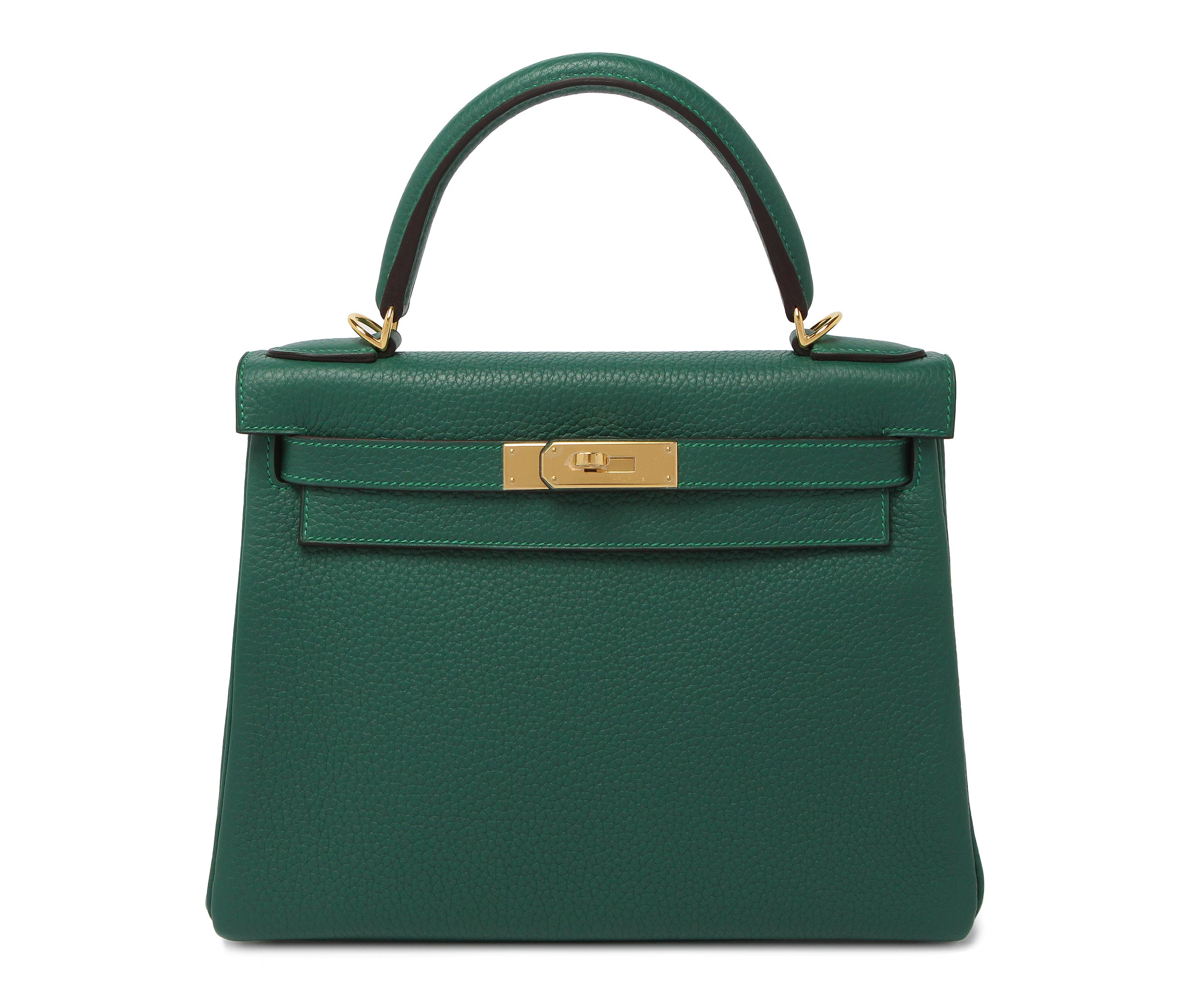 Hermes Birkin Malachite Clemence with Gold