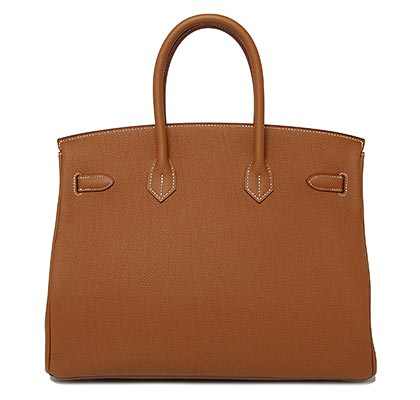 Hermes Birkin Gold Togo with Palladium