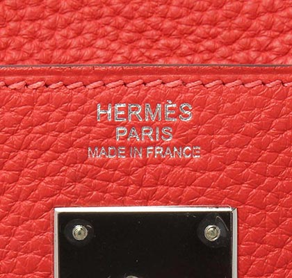 Hermes Kelly Pivoine Clemence with Palladium