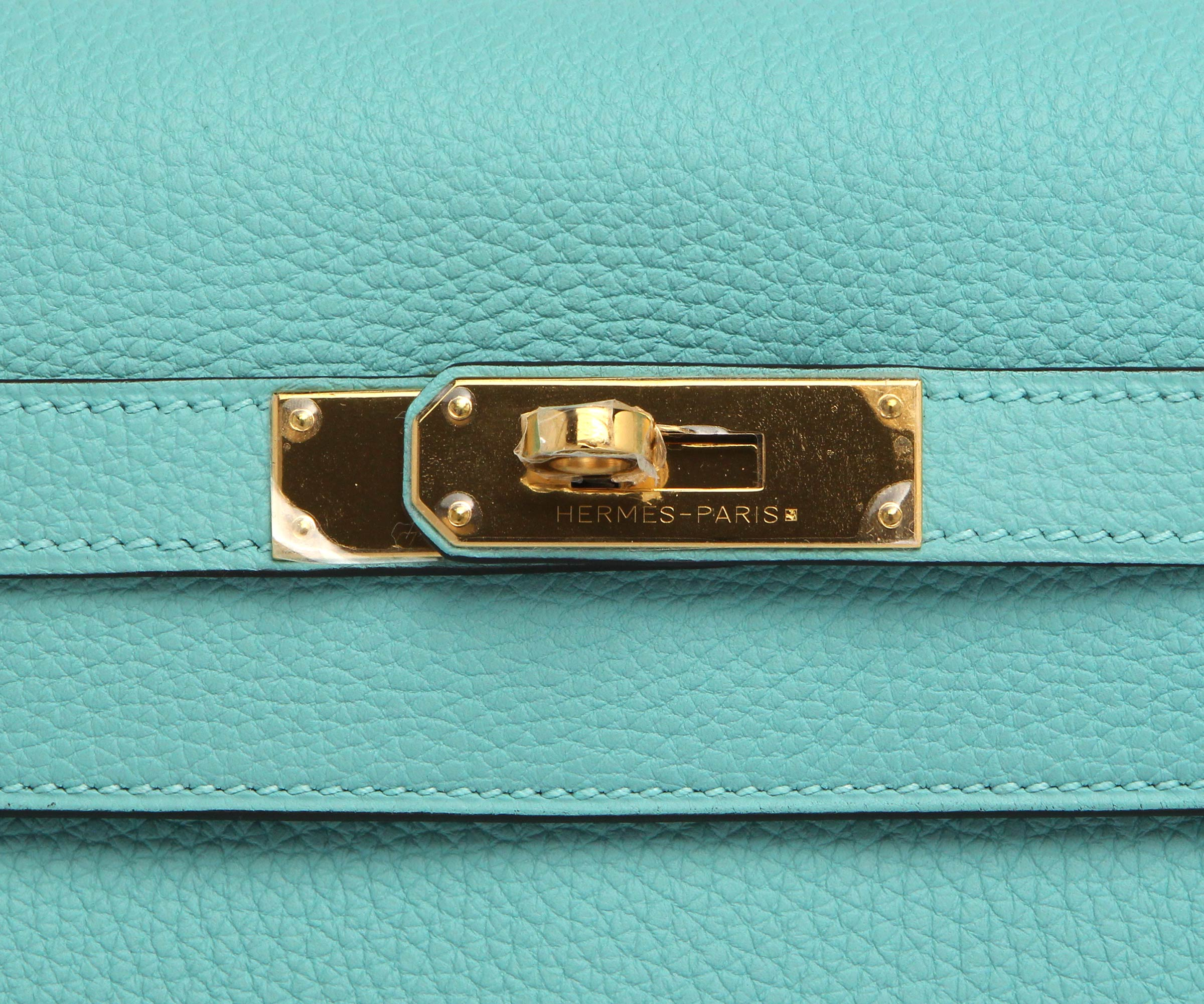 Hermes Kelly Atoll Togo with Gold