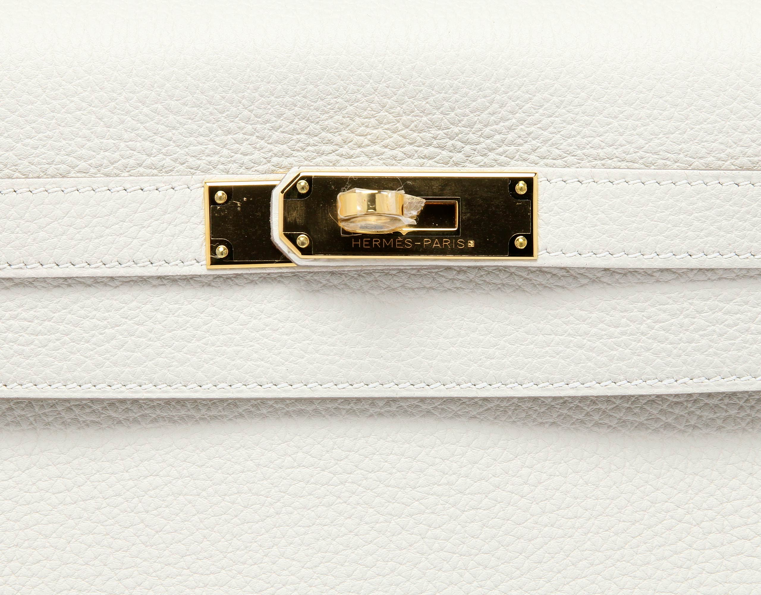 Hermes Kelly Crais Togo with Gold