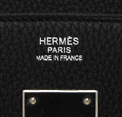 Hermes Birkin Black Togo with Palladium