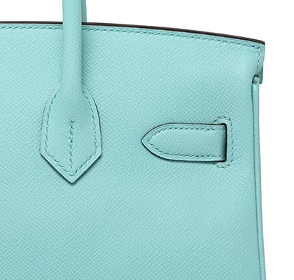 Hermes Birkin Blue Atoll Togo with Gold