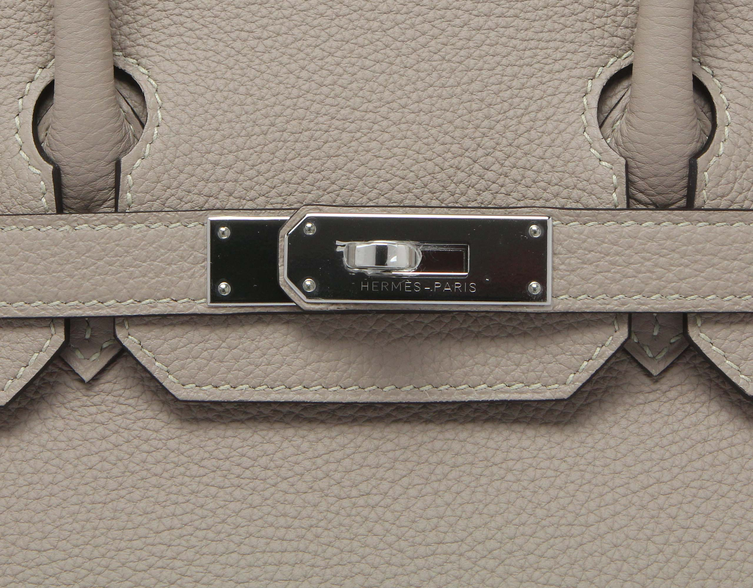 Hermes Birkin Gris Togo with Palladium