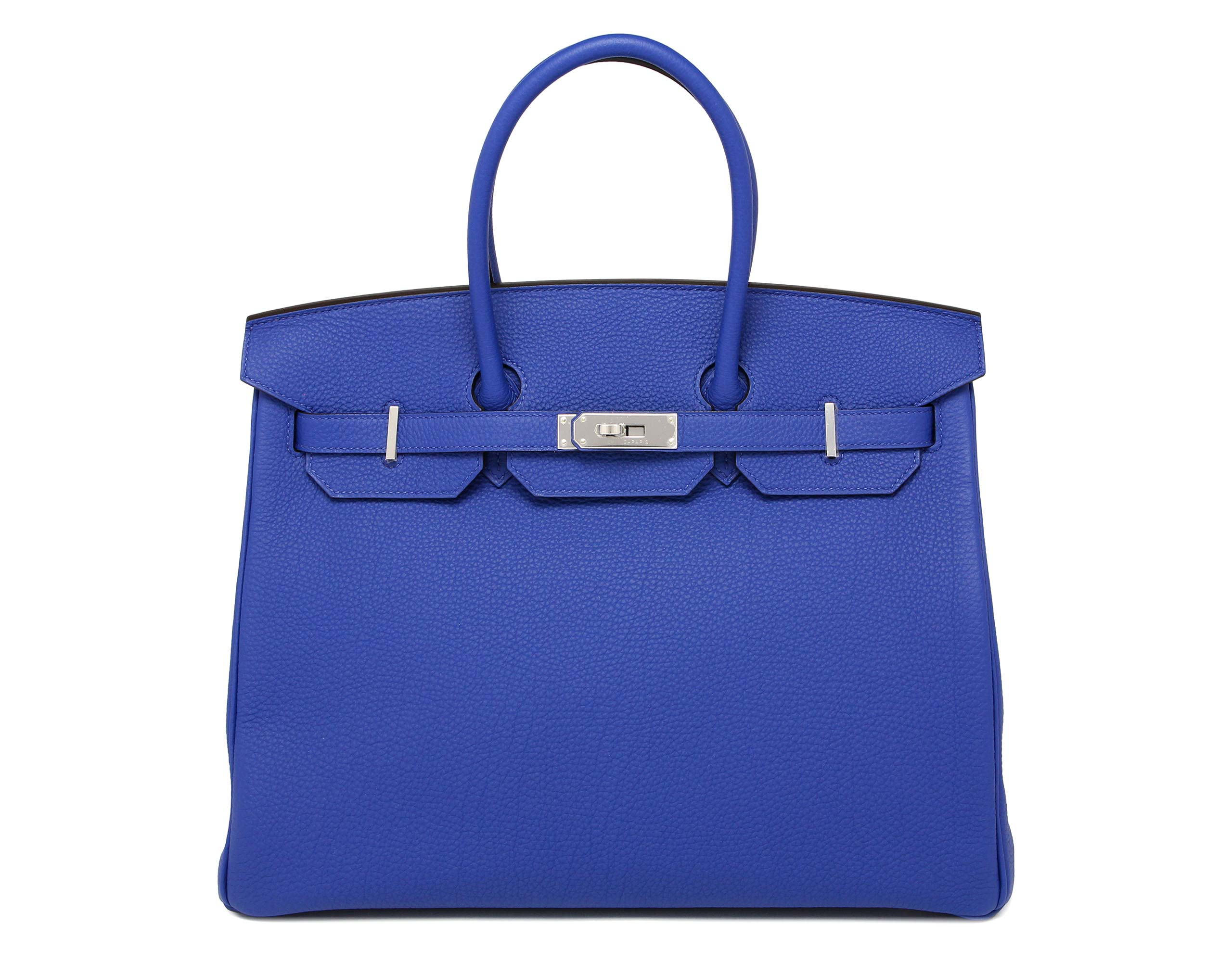 Hermes Birkin Electric Blue 35cm