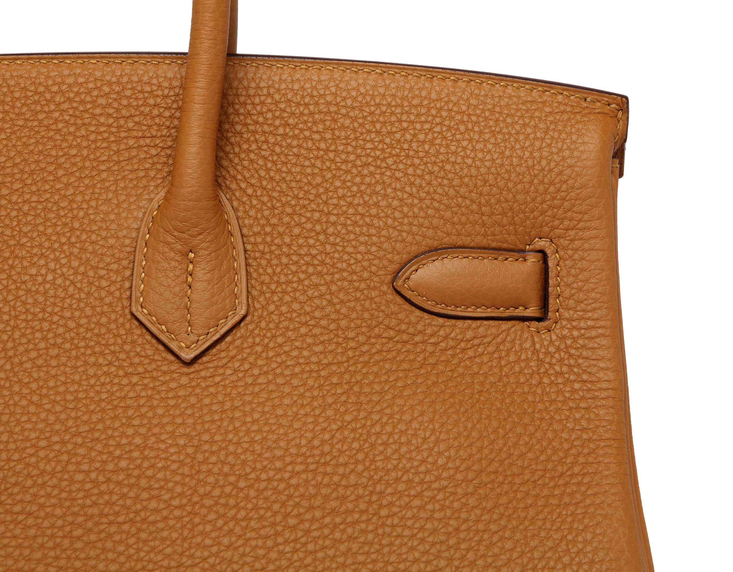 Hermes Birkin Caramel Togo with Gold