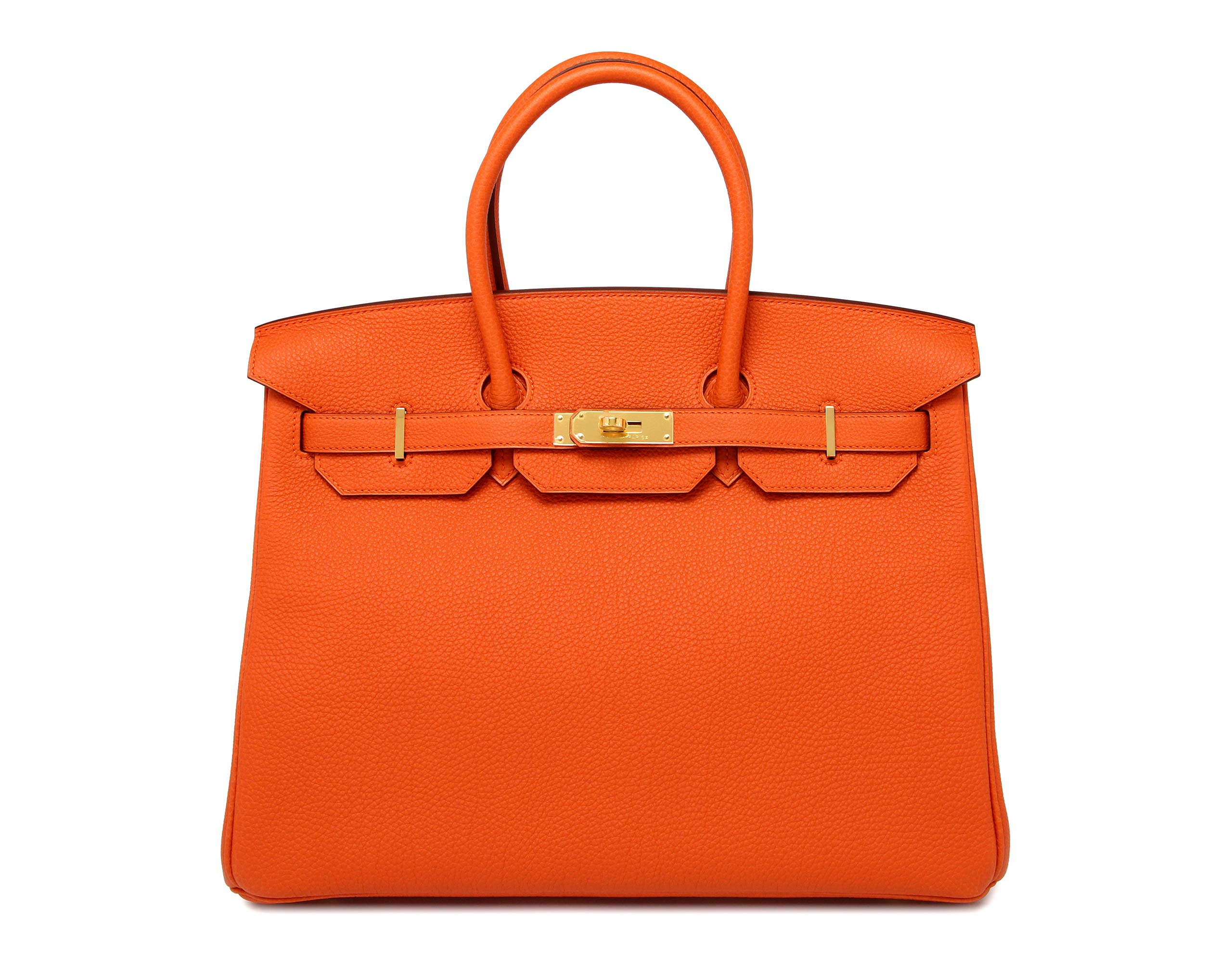 Birkin Orange 35cm