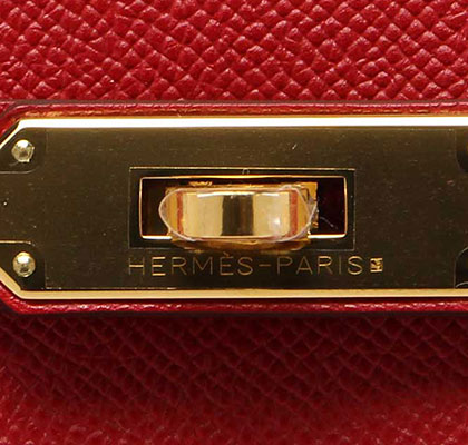 Hermes Birkin Rouge Cassaque Epsom with Gold