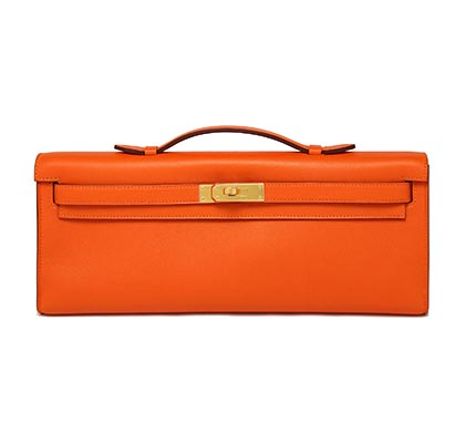 Hermes Birkin Kelly Cut Swift with Gold