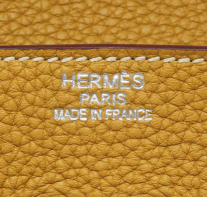 Hermes Birkin Curry Clemence with Palladium