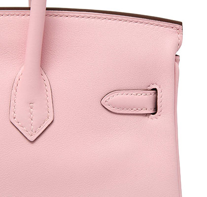 Hermes Birkin Rose Sakura Swift with Palladium