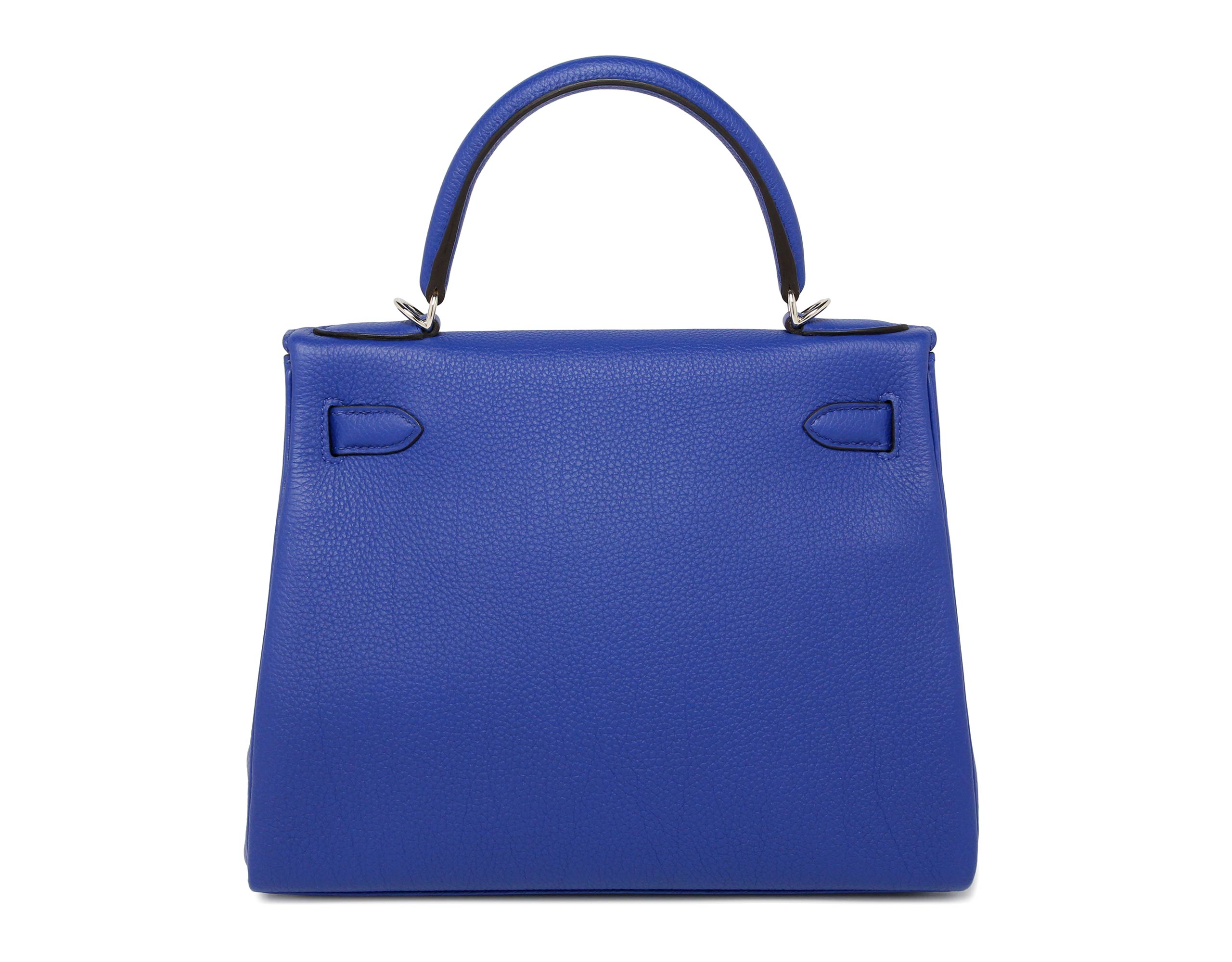 Hermes Kelly Blue Electric Togo with Palladium