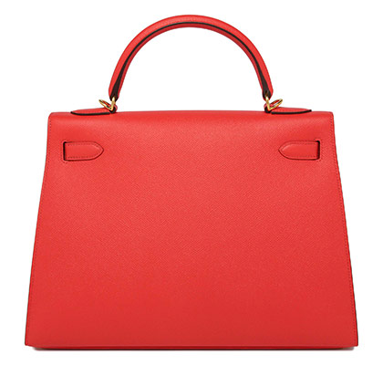 Hermes Kelly Rose Jaipur Epsom with Gold