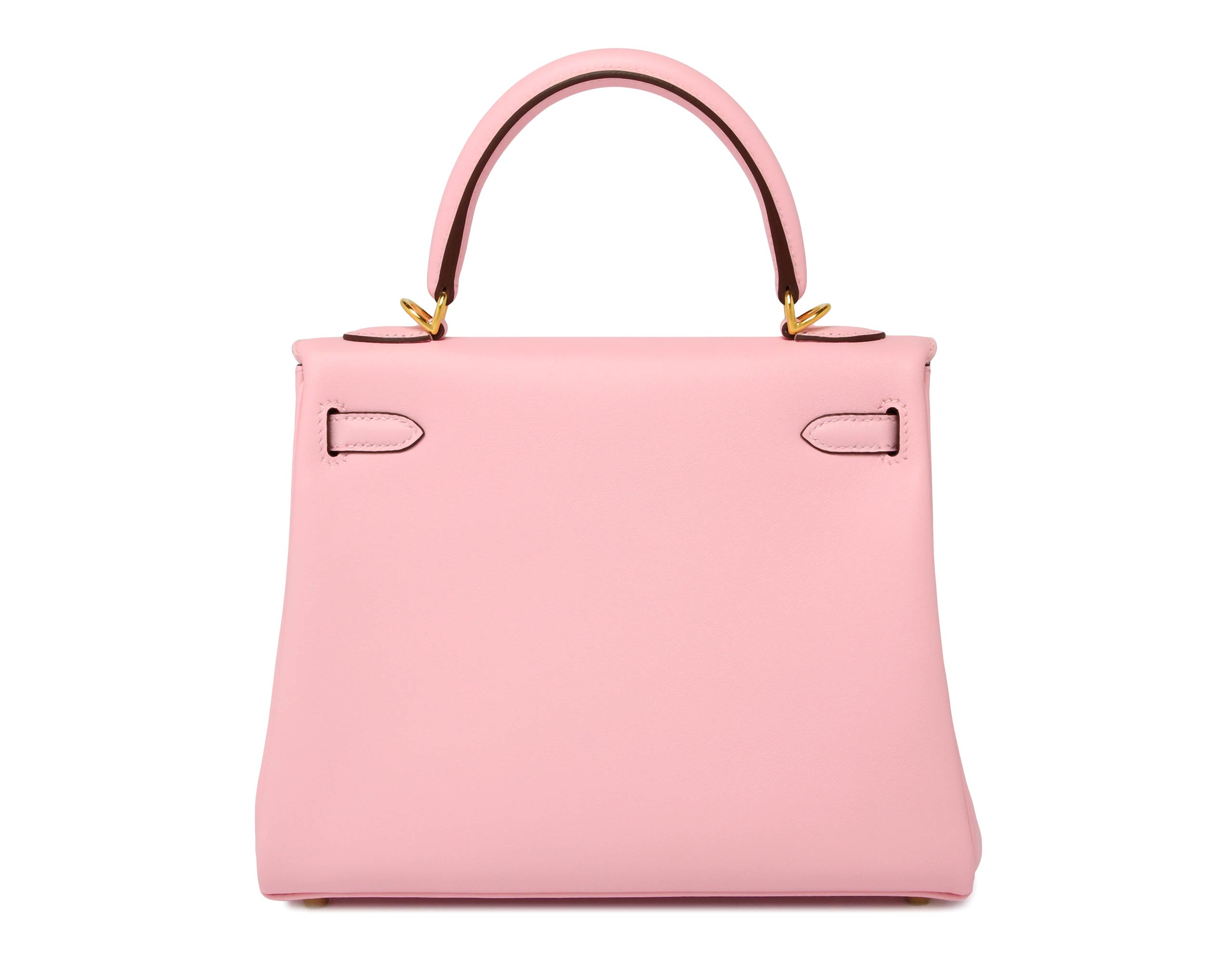 Hermes Kelly Rose Sakura Swift with Gold