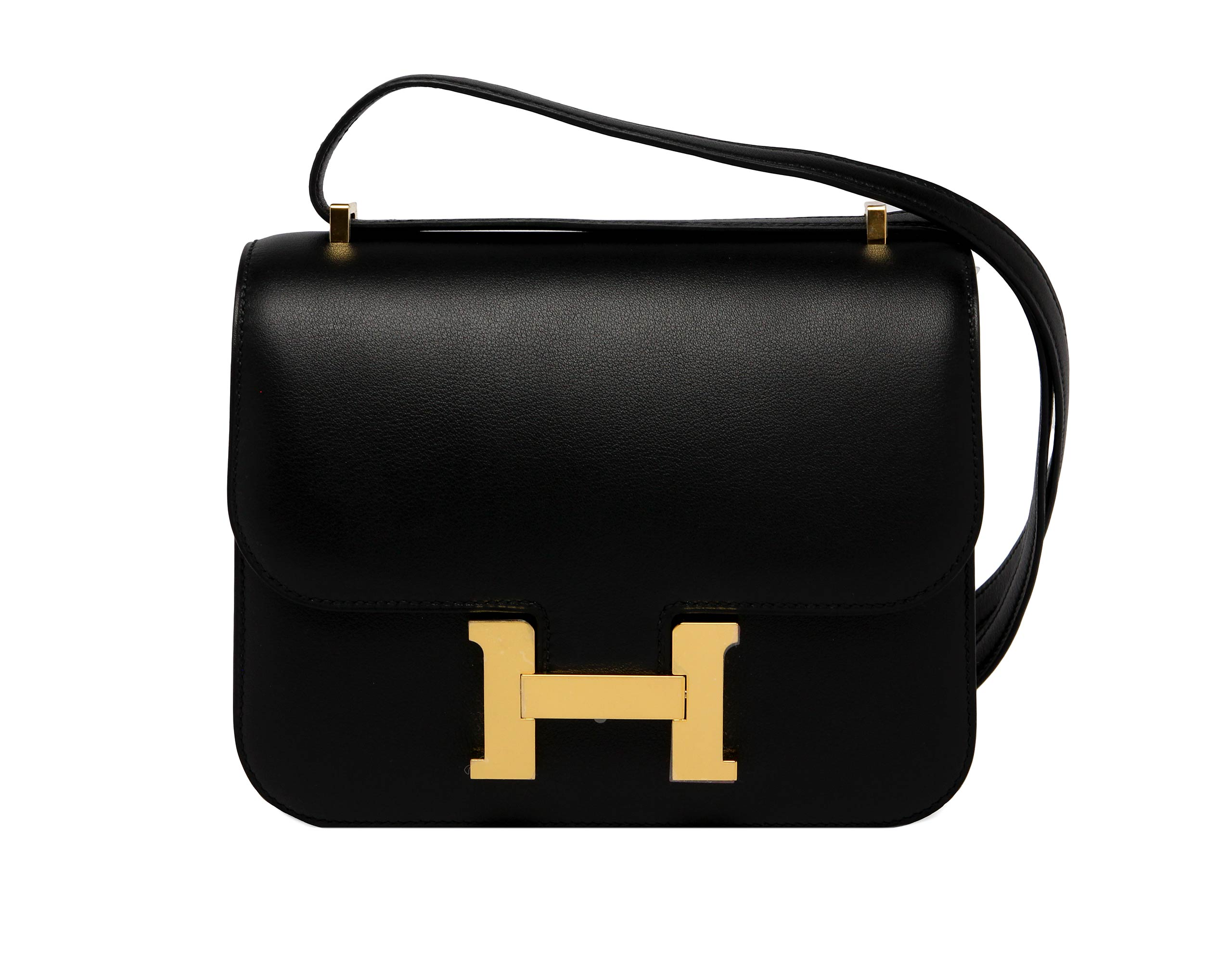 Hermes Handbags Black