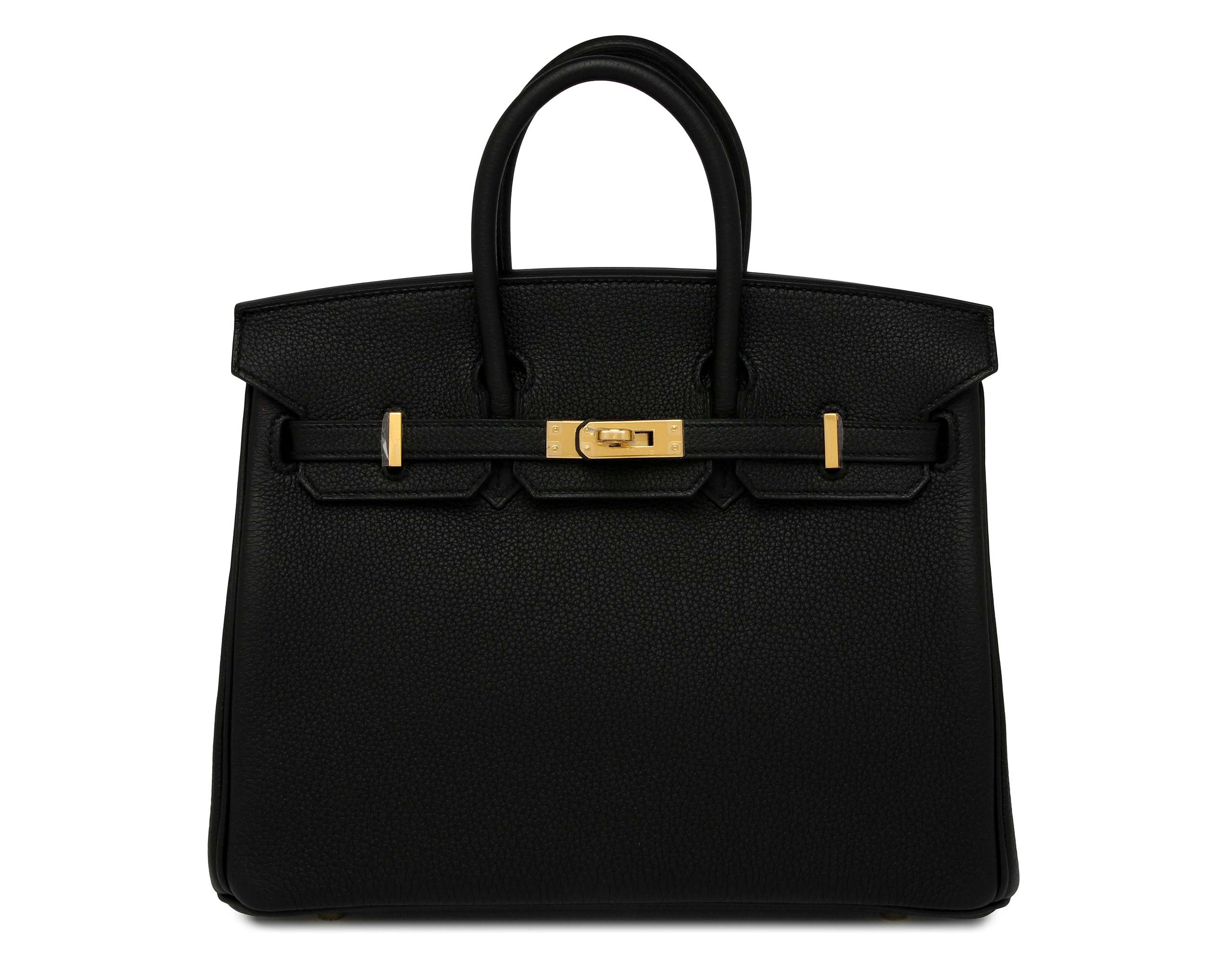 baf0a71ca4 Hermes Birkin Black Togo 25cm with Gold Hardware ...