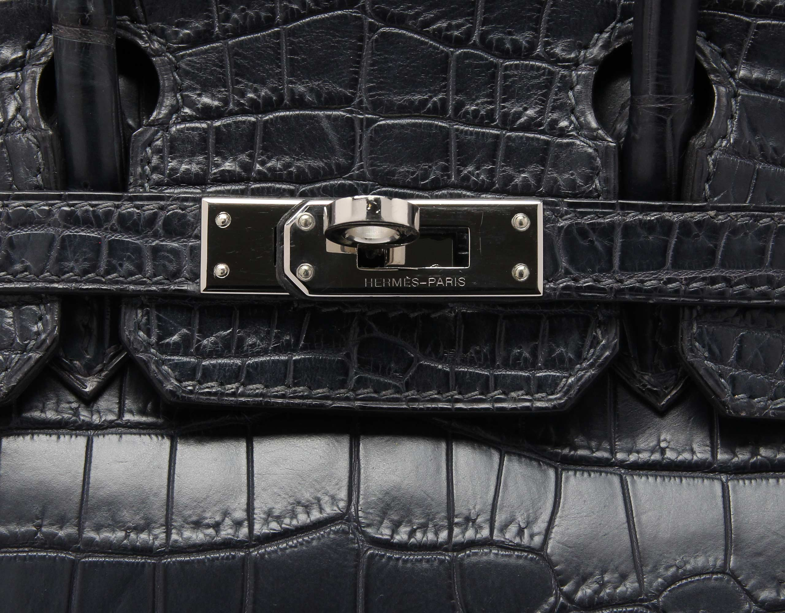 Hermes Birkin Indigo Blue with Palladium