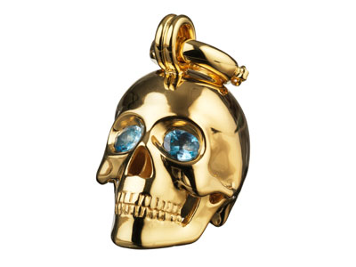 the-muses-kranio-human-skull-gold-aqua-marine-preview